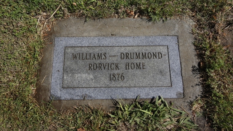 drummond-plaque